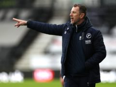 Millwall manager Gary Rowett is without several players for the home game with Bristol City (Bradley Collyer/PA)