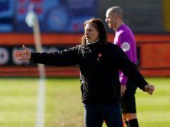 Gareth Ainsworth's Wycombe beat Blackburn (Tess Derry/PA)