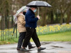 Bank holiday Monday will be a washout, according to forecasters (Jacob King/PA)