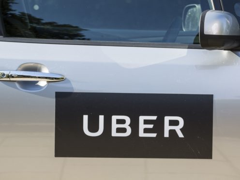 Ride-sharing app Uber has revealed plans to sign up another 20,000 drivers as demand begins to ramp up following the reopening of outdoor dining (Laura Dale/PA)