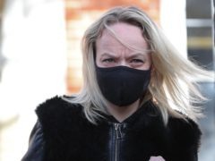 Rachel Street leaves Ealing Magistrates' Court (Jonathan Brady/PA)