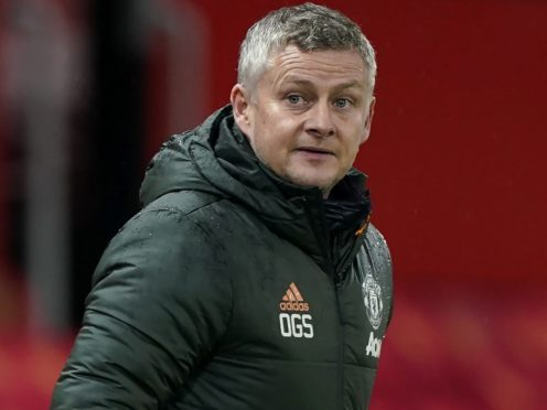 Ole Gunnar Solskjaer spoke for the first time about the European Super League (Tim Keeton/PA)