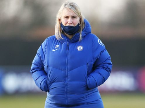 Emma Hayes insists Chelsea are happy to be competing on all fronts as they prepare for their FA Cup clash against London City Lionesses (Tim Markland/PA)