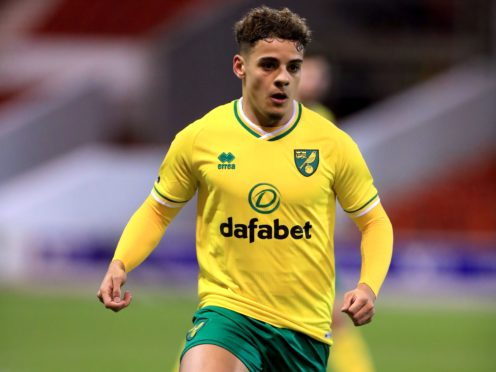 Max Aarons has helped Norwich back to the Premier League (Mike Egerton/PA)
