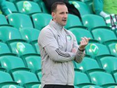 Celtic interim manager John Kennedy (Andrew Milligan/PA)