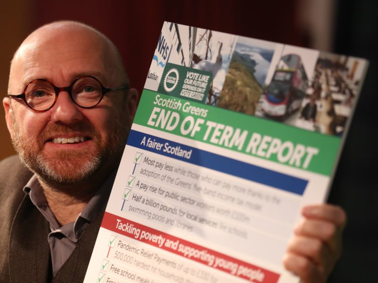 Co-leader Patrick Harvie said Scotland needs to 're-think' high streets (Andrew Milligan/PA)