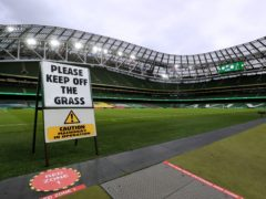 The FAI has been unable to give assurances over minimum spectator levels for Euro 2020 fixtures at the Aviva Stadium (Brian Lawless/PA)