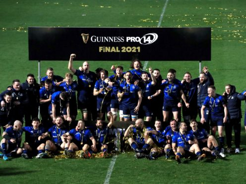 Leinster won the Guinness PRO14 (Donall Farmer/PA)