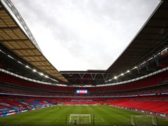 Manchester City and Tottenham supporters will need to provide proof of a negative coronavirus test to enter Wembley for the Carabao Cup final on April 25 (Catherine Ivill/PA)