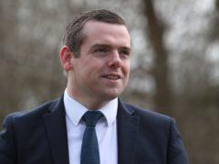 Scottish Conservative leader Douglas Ross (Andrew Milligan/PA)