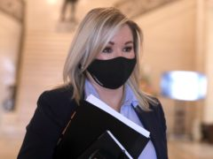 Northern Ireland Deputy First Minister Michelle O'Neill, who has offered a 'heartfelt and unreserved apology' to families bereaved in the pandemic for her actions in relation to her attendance at a large republican funeral. (Brian Lawless/PA)
