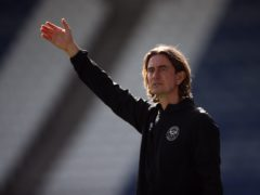 Brentford manager Thomas Frank is doubtful his side can overhaul Watford to clinch automatic promotion (Tim Goode/PA)