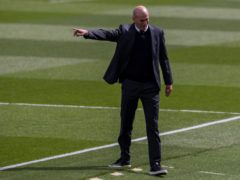 Zinedine Zidane faces a crucial week (Bernat Armangue/AP)