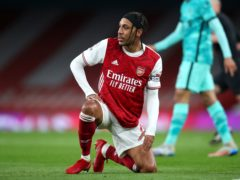 Pierre-Emerick Aubameyang will be missing again for Arsenal (Catherine Ivill/PA)