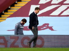 Fulham manager Scott Parker says his team must learn from the Aston Villa defeat (Catherine Ivill/PA)