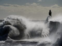 Blustery conditions and sunny spells helped drive the grid to its greenest point on record on Monday (Owen Humphreys/PA)