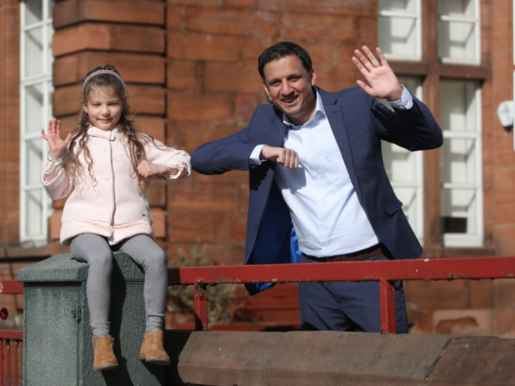 Scottish Labour leader Anas Sarwar criticised the SNP Government for having 'failed' children and young people (Andrew Milligan/PA)