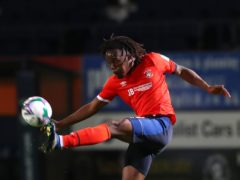 Peter Kioso scored twice for Northampton in their defeat of Ipswich (Catherine Ivill/PA)