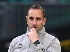 John Kennedy is in temporary charge of Celtic (Andrew Milligan/PA)