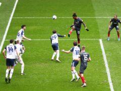 Brentford's Ivan Toney scored as Brentford thumped Preston (Tim Markland/PA)