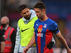 Gary Cahill missed Crystal Palace's defeat at Leicester (Mike Hewitt/PA)