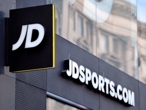Retailer JD Sports Fashion has said profits are set to rebound more strongly than expected over the year ahead as stores reopen after lockdown (PA)
