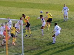 Rob Atkinson opened the scoring for Oxford (Adam Davy/PA)