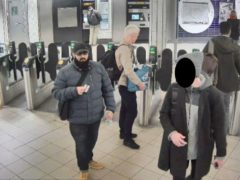 Undated Metropolitan Police handout photo, which was shown in court at the inquest into the terror attack at the Fishmongers' Hall in London on November 29 2019, of Usman Khan at Bank station to attend a prisoner rehabilitation event at the hall near London Bridge. Issue date: Wednesday April 14, 2021.
