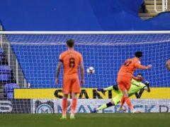 Kieffer Moore scored a late penalty winner for Cardiff (John Walton/PA)