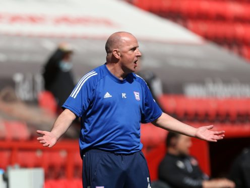 Ipswich manager Paul Cook is desperate to end his side's goal-drought (Steven Paston/PA)