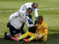 QPR goalkeeper Seny Dieng suffered a broken nose when he was sent off against Middlesbrough (Richard Sellers/PA)