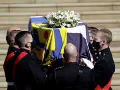 At his funeral, the Duke of Edinburgh will be interred in the Royal Vault of St George's Chapel (Kirsty Wigglesworth/PA)