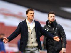 Scott Parker's Fulham dropped two late points (Julian Finney/PA)