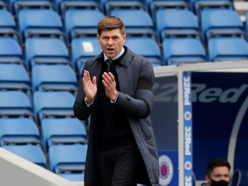 Steven Gerrard is happy with Rangers' heart after they beat Celtic (Jane Barlow/PA)