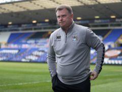 Mark Robins' Coventry saw off Barnsley (Bradley Collyer/PA)