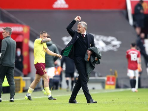 Ole Gunnar Solskjaer's side beat Burnley (Martin Rickett/PA)