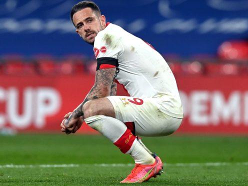 Southampton striker Danny Ings has a hamstring injury (Neil Hall/PA)