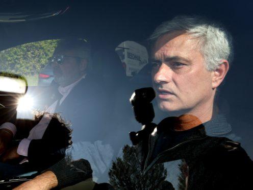 Jose Mourinho left Tottenham's training ground for the final time on Monday (Jonathan Brady/PA)