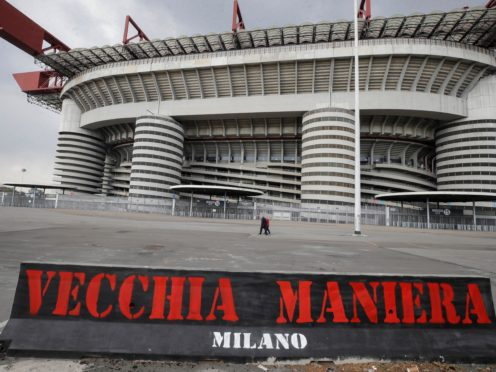The San Siro is the home of AC and Inter Milan (Luca Bruno/AP).