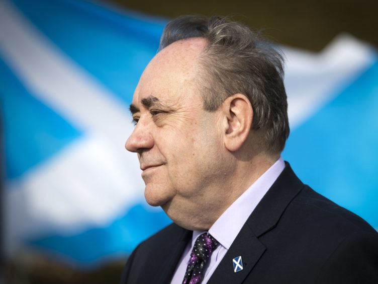 Alba Party leader Alex Salmond has called for the extension of the Borders Railway (Jane Barlow/PA)