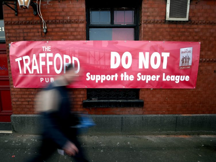 The European Super League (ESL) will consider 'the most appropriate steps to reshape the project' after the so-called Big Six English football clubs withdrew from the controversial new competition following widespread outrage and the Prime Minister's threats of legislative action (Martin Rickett/PA)