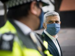 London Mayor Sadiq Khan has led calls for 'real change' following the conviction of a white former police officer for the death of black man George Floyd in the US (Stefan Rousseau/PA)