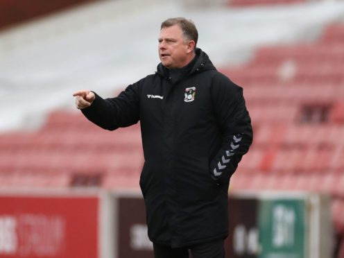 Mark Robins' side are close to safety (Bradley Collyer/PA)
