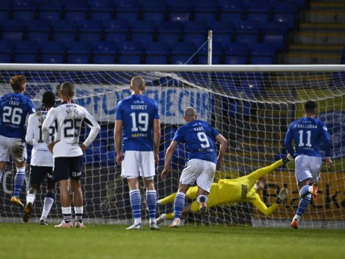 Liam Craig netted the equaliser (Rob Casey/PA)