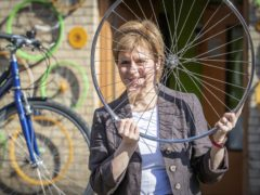First Minister Nicola Sturgeon has vowed to invest in active travel (Jane Barlow/PA)