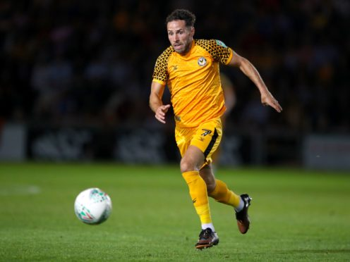 Robbie Willmott was ineligible for Exeter's match against his parent club Newport (Nick Potts/PA).