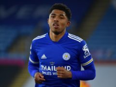 Leicester's Wesley Fofana during the Premier League match at the King Power Stadium, Leicester. Picture date: Thursday April 22, 2021.