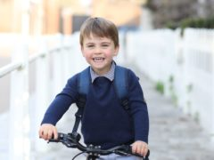 Prince Louis, photographed by his mother, the Duchess of Cambridge, at Kensington Palace (Duchess of Cambridge/PA)