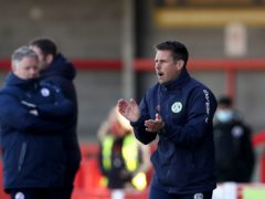 Forest Green interim boss Jimmy Ball has decisions to make (Gareth Fuller/PA)
