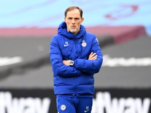 Thomas Tuchel has called on Chelsea fans not to vent their Super League anger on the club's players (Andy Rain/PA)